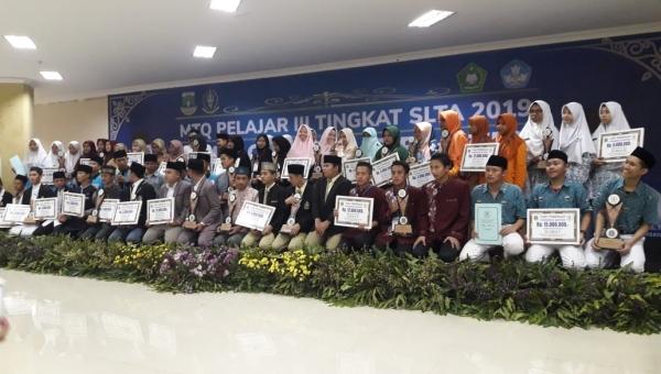 Penyabet Piala Gubernur Banten MTQ Tingkat SLTA 2019  Edit